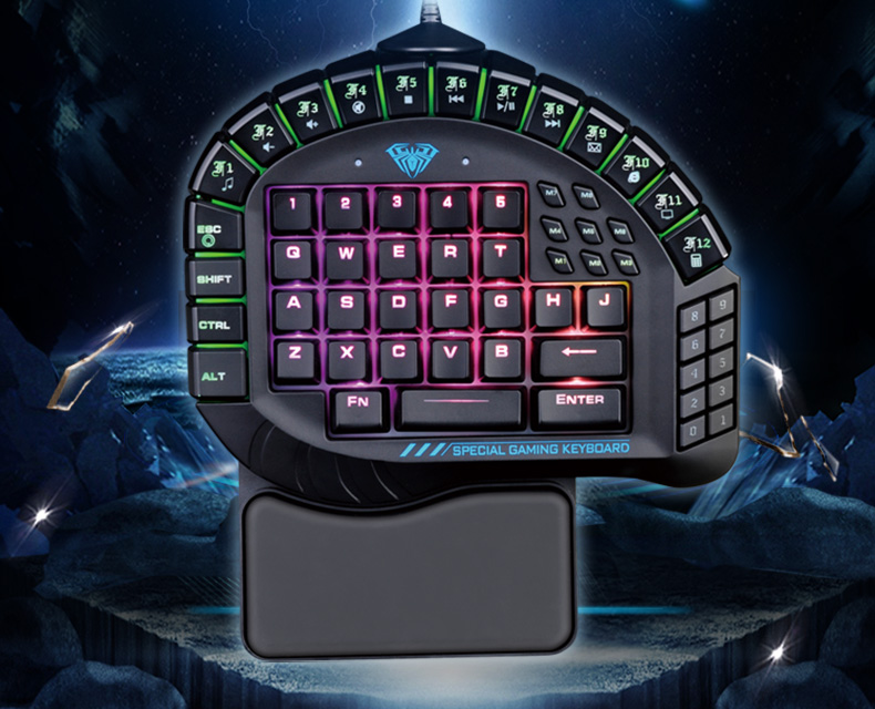 2017 new USB2.0 cable high quality Professional game keyboard Mechanical keyboard with backlight for CF LOL