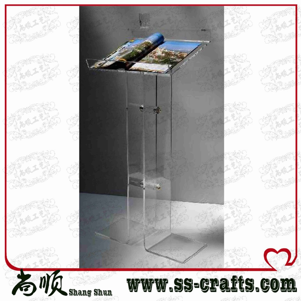 Factory Direct Supply Acrylic Podium Pulpit Lectern,acrylic Desktop Lectern,frosted Acrylic Lectern/acrylic Lectern
