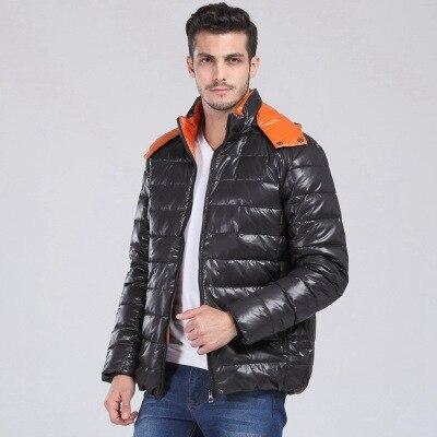 Black Down Jacket Fashion Obese Warm Man's With Hood Chest 155-170cm Plus Size4xl 5xl 6xl 7xl 8xl 9xl 10xl11xl12xl13xl