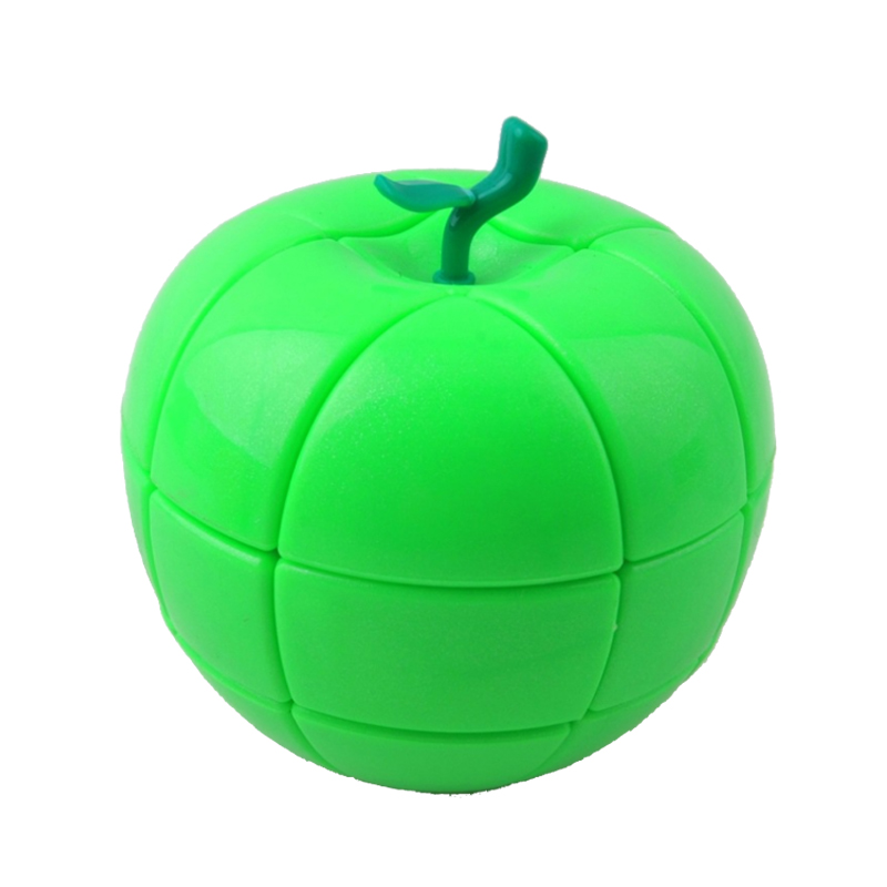 Red Green Apple Sharp Toys For Children Strange Sharp Puzzle Cube For Kids Gift Educational Learning Speed Magico Cubo