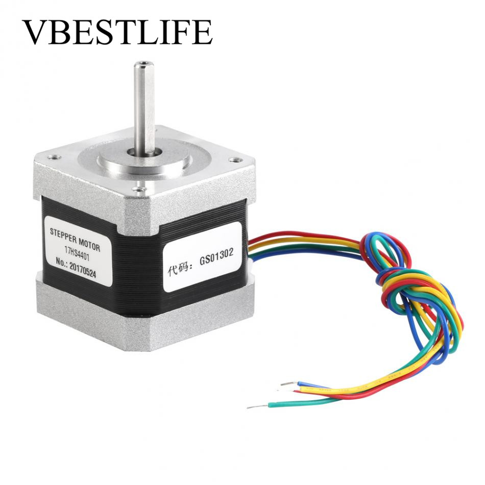 US $16.49 29% OFF|4 wire Nema17 Step Motor DC 17HS4401 Stepper Motor on electrical cord, electrical repair, electrical shocks, electrical conduit, electrical technology, electrical contracting, electrical fuses, electrical volt, electrical tools, electrical cables, electrical box, electrical engineering, electrical equipment, electrical receptacle types, electrical wire, electrical circuits, electrical energy, electrical diagrams, electrical grounding, electrical fire,