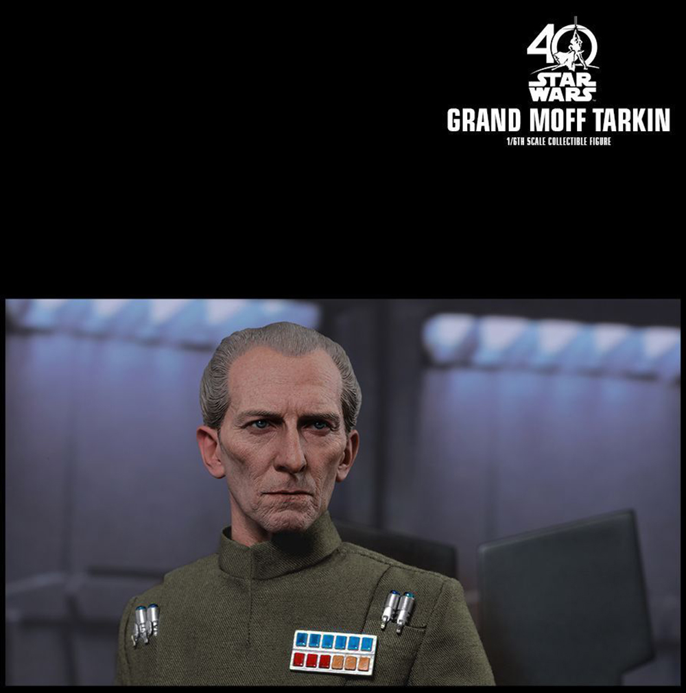 Full set Colletible 1/6 Scale Star Wars: Episode IV - A New Hope Grand Moff Tarkin Peter Cushing Figure Model Toys 6