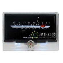 P-134 VU Meter Level Meter Audio Volume DB Meter Level Back Light Post-amplifier Golden scorpion sound with the same style sound meter level equipment se ar814