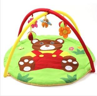 Безкоштовна доставка ведмідь дитини грати мат Bebe освітні іграшки сканування PlayMat діти тренажерний зал Pad багатофункціональний скелелазіння Pad