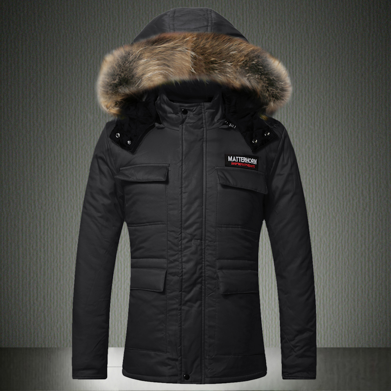 Couple Style 2016 Winter Loose Padded Coat Men Women Long Cotton Padded Jacket Thicken Hooded Casual Parka Outerwear