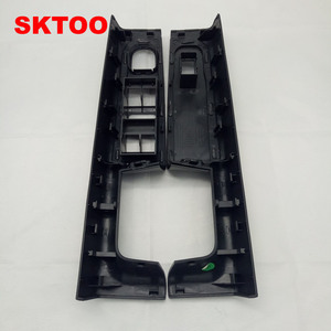Image 2 - SKTOO For Skoda Superb door handle front left and right door armrest box inner handle frame, the lifter switch box black