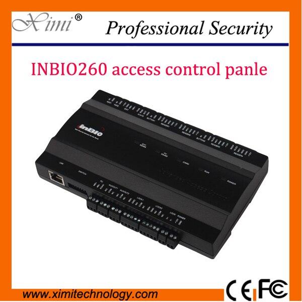 Hot sale fingerprint control panel ZK inbio260 fingerprint reader access control panel for access control ssystem