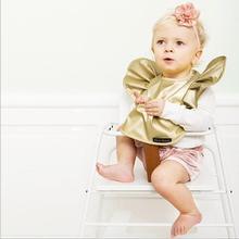New Pattern The Baby Wave Tyrant Gold Pocket Pocket Bib Bib Hard Waterproof Slobber ATRK0062