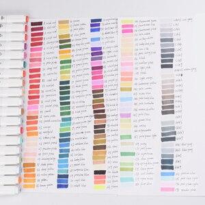Image 5 - Touchfive Marcatori 40/60/80/168 di Colore Doppio Consigli Sketchmarker per il Disegno Manga Pennarelli Artistici Alcol Inchiostro Rifornimenti di Arte Con 6 regali