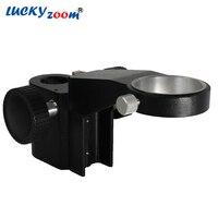 Nueva 50mm Diámetro Ajustable Sostenedor Del Soporte Soporte de Brazo Articulado Microscopio Estéreo Microscopio de Engranajes Accesorios Envío Gratis