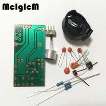 1kit Simple FM wireless microphone Electronic DIY parts kit