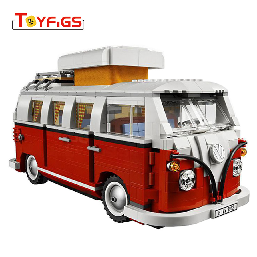 Mailackers LEGOINGly Technic Blocks The T1 Camper Van Car City Building Blocks Legoed Friends 10220 Bricks Toy For Children GiftMailackers LEGOINGly Technic Blocks The T1 Camper Van Car City Building Blocks Legoed Friends 10220 Bricks Toy For Children Gift