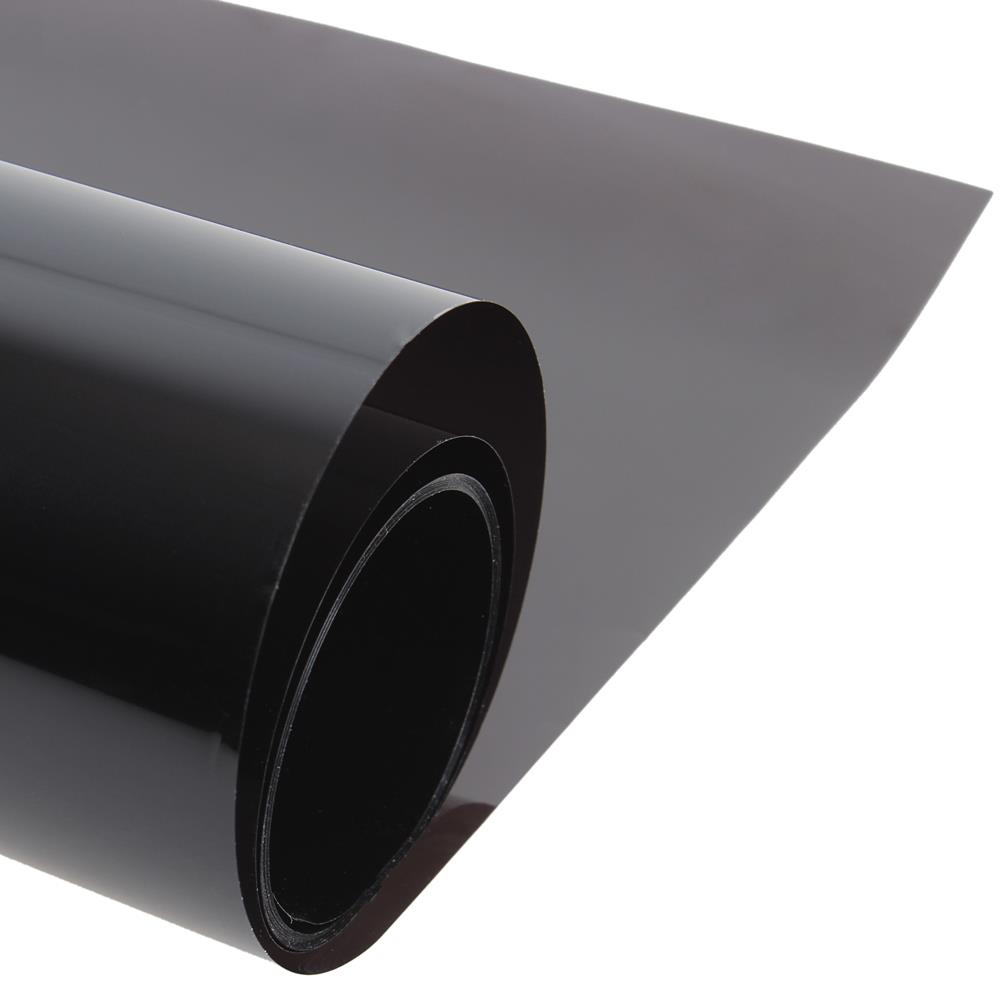 50cm x 300cm Dark Black Car Window Tint Film Glass VLT 5 Roll 1 PLY Car