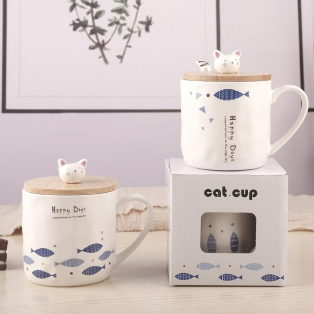 Creative Cat Mugs 1