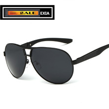 Men Sunglasses UV400 Anti-Ultra Violet Dark Grey Lenses EXIA OPTICAL KD-8013 Series