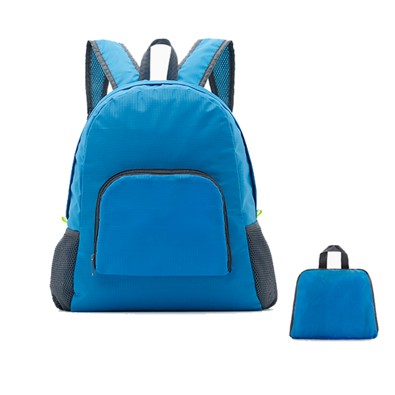Fashio Backpack Women Leisure Travel bag Folding Backpacks For Girl School Bags Nylon Waterproof High Quality Rucksack Wholesale Рюкзак