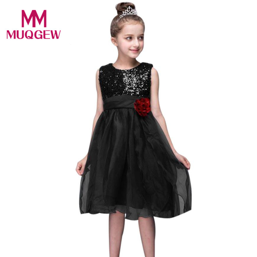 New Year Children Bling Sequins Flower Princess Girl Dress for Wedding Birthday Party Girl Kids Evening Prom Dresses for Girls girls dress new summer flower kids party dresses for wedding children s princess girl evening prom toddler beading clothes 3 12
