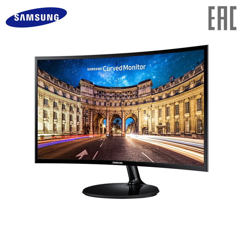 Monitor Samsung 23.5 C24F390FHI Black computer display монитор samsung c24f390fhi
