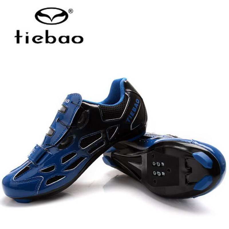 Tiebao sapatilha ciclismo Bike Shoes Road Racing men 2018 Men Athletic zapatillas deportivas hombre Cycling Bicycle Shoes women tiebao professional road shoes rotating screw steel wire with fast cycling shoes road bike shoes tb16 b1259