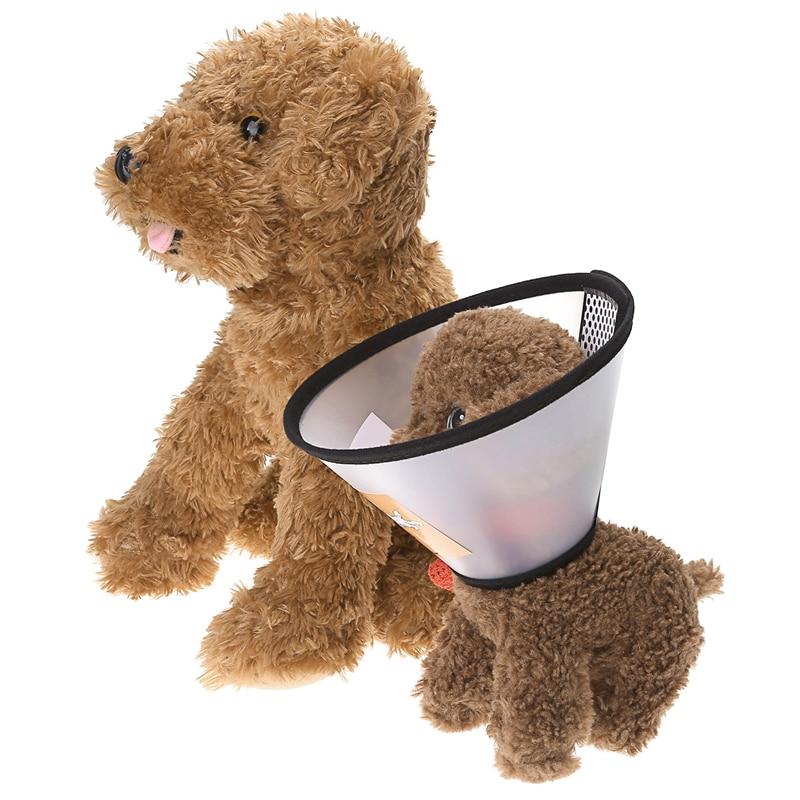 Mogoko 개 고양이 투명한 보호 덮개 상처 치료 원추형 보호 애완 동물 의료 Elizabethan Collar Smart Cone Invent Bite