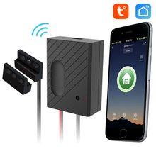 1Set Ewelink/Tuya WiFi Switch Car Garage Door Opener Controller APP Remote Control Timing Voice