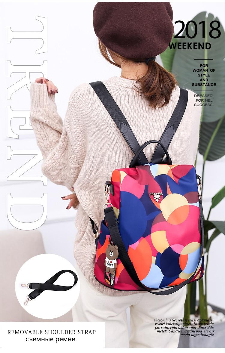 HTB1lR 2e8Cw3KVjSZFlq6AJkFXaK Fashion backpack women shoulder bag large capacity women backpack school bag for teenage girls light ladies travel backpack