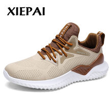 2019 New Brand Men Casual Shoes Autumn Winter Breathable Light Sneakers Footwear Fashion Black White Shoes Big Size 39-46(China)
