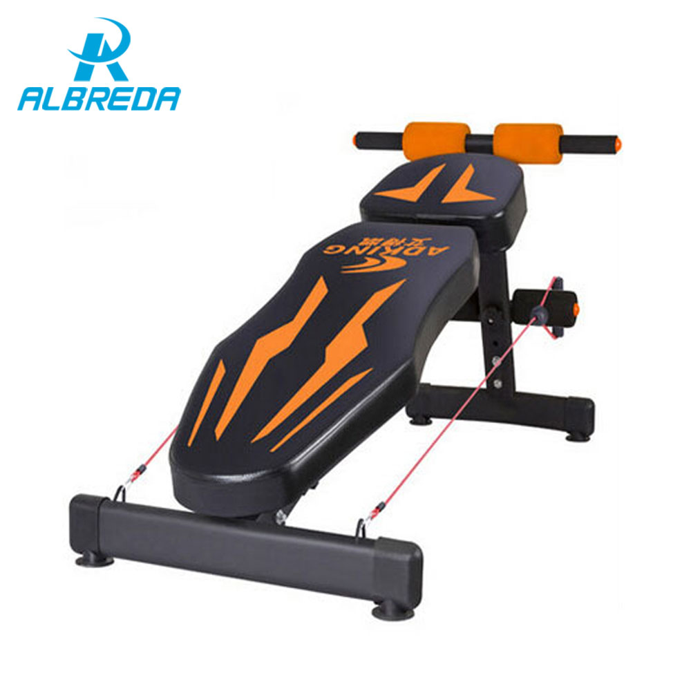 ALBREDA hot Sit Up Bench fitness equipment for home abdominal waist trainer bench women ab mat the sports equipment For a waist new arrival sit up bench fitness equipment for home abdominal waist trainer bench women ab mat the exercise machine for a waist