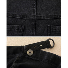 Spodnie dla ciężarnych kobiet Odzież elastyczna talia ciążowe spodnie brzuch Ciąża dżinsy stretch legginsy Odzież Maternidad tanie tanio Maternity Myte XEIOBB ftyu Denim Spandex bawełna Szczupła Naturalny kolor