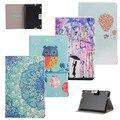 Новый Бумажник Флип Кожа PU Case Симпатичные Сова Стенд Обложка Для Amazon Kindle Fire HDX7 HDX 7 7 ''Мода Tablet с Помощью Кредитной Карты Слоты