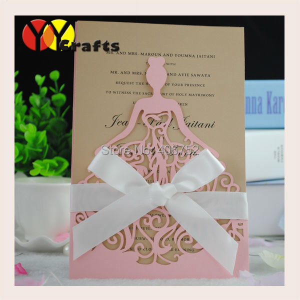 The Pictures Of Girls Birthday Invitation Card Laser Cut Pocket Princess Invitations