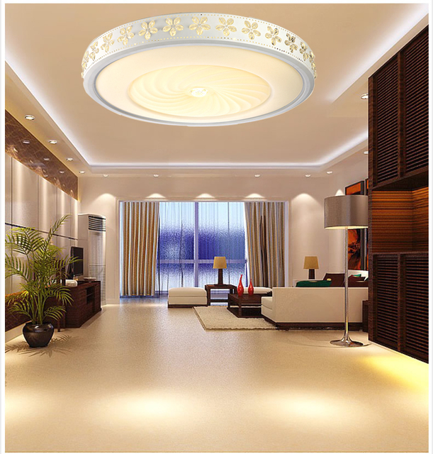 Vendite calde moderne plafoniere a led per soggiorno for Plafoniere moderne per soggiorno