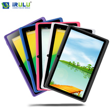 """iRULU eXpro X1 7"""" Tablet PC Quad Core Android 4.4 Tablet 8GB ROM Dual Cam Google APP Play USB WIFI Multi-colors Hot(China (Mainland))"""