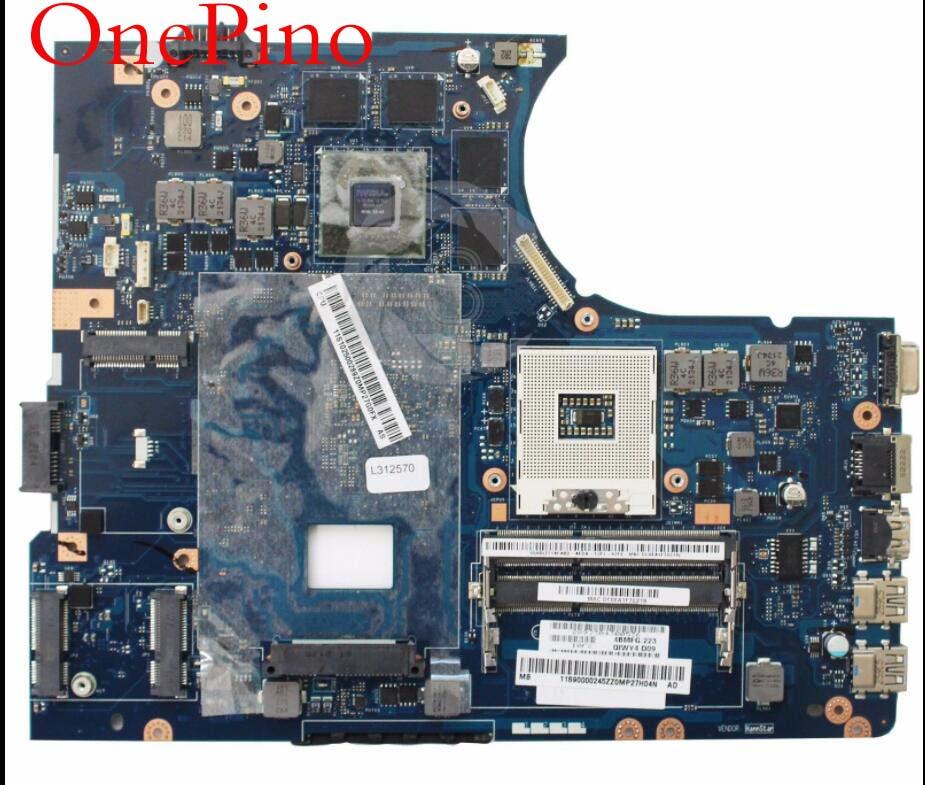For Y580 motherboard QIWY4 LA-8002P-REV-1-0-motherboard-HM76 PGA989 tested working сайга 12 4 1 приклад по типу свд фанера ствол 580 мм купить