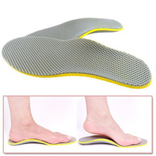 1 Pair 3D Premium Comfortable Orthotic Shoes Insoles Inserts High Arch Support Pad for women men