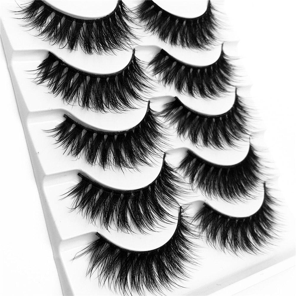 3D vison cílios mix cílios postiços 5