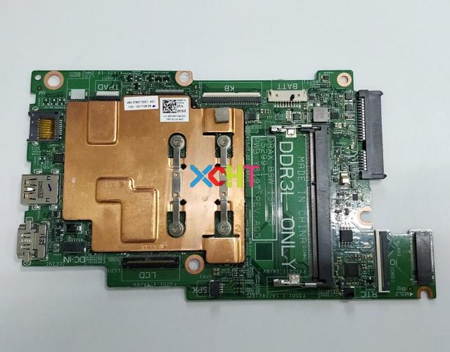 עבור Dell Inspiron 3168 CN 0J71V9 0J71V9 J71V9 15299 1 PWB: y619T w N3710 מעבד DDR3L מחשב נייד האם Mainboard נבדק
