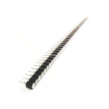 100 pcs 1×40 Pin 2.54 Rodada Female Pin Header connector