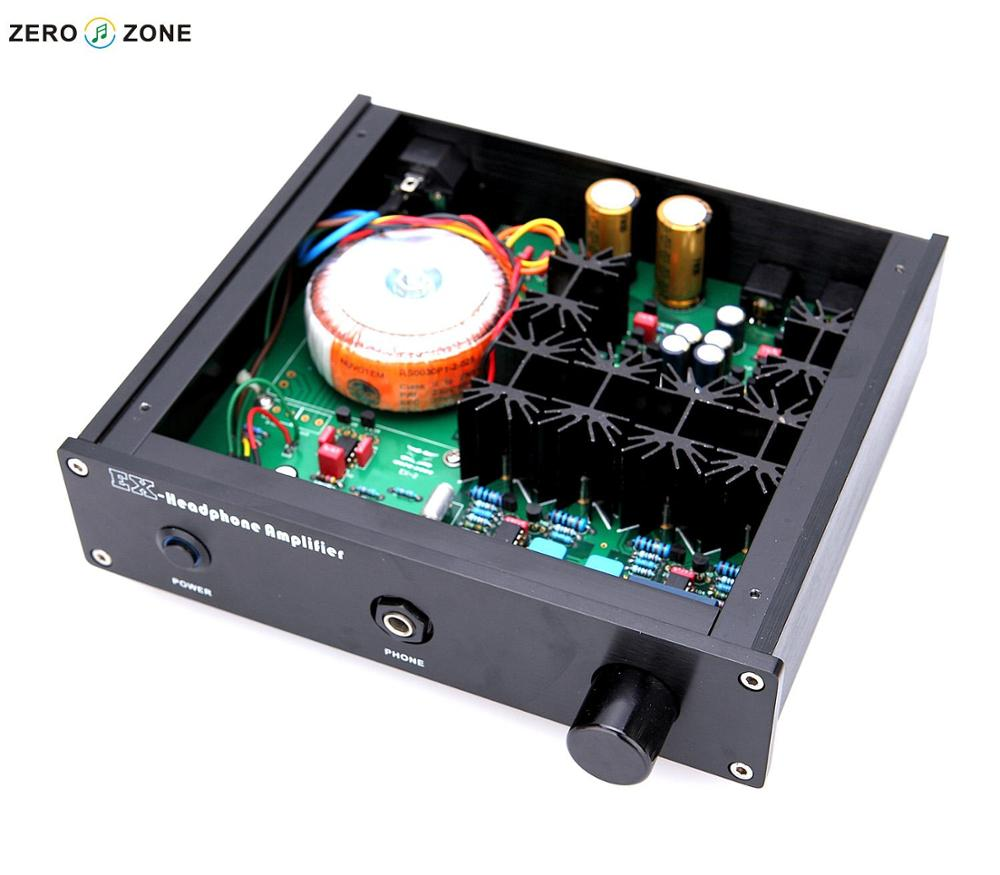 Gzlozone Finished Ex 2 Headphone Amplifier Base On Lehmann Circuit Head Phone Ver 30 Amp In From Consumer Electronics Alibaba