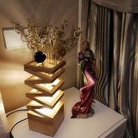 Современные настольные лампы Спальня исследование светодиодный свет бюро Свадебные Цветочная композиция свет стол офисные Книги по искус