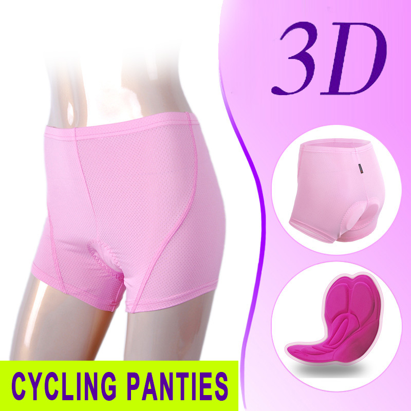 Practical Riding Shorts Outdoors Sports Bicycle Shorts Bike Shorts Breathable Mesh Fabric Ride Bike Durable Pink Fitness plaid
