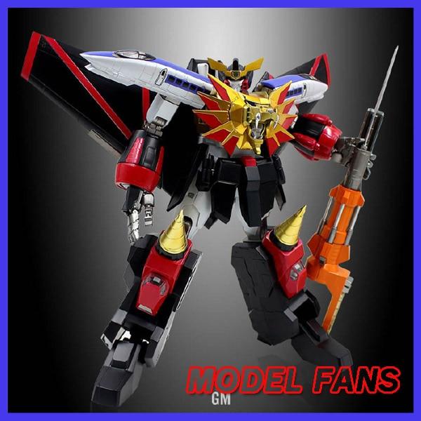 цена на MODEL FANS INSTOCK GM 28cm GAOGAIGAR Assembly contain light action figure robot