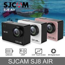In Stock! SJCAM SJ8 Air 14MP HD Touch Screen Action Camera WiFi Remote Control Waterproof Sport DV Mini 1200mAh H2 Camera