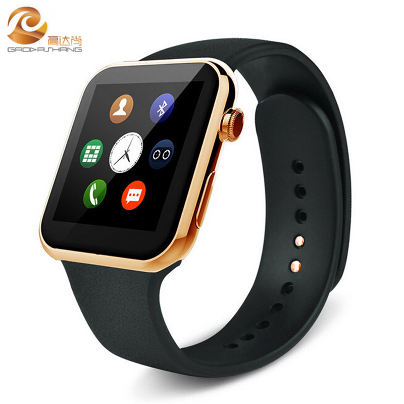 2016 New font b Smartwatch b font A9 Bluetooth Smart watch for Apple Phone Android Phone