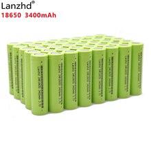 40 шт., 100% оригинальные литий ионные аккумуляторные батареи INR18650 30 а для Samsung 18650, 3,7 в, 3400 мач, INR18650, 30Q