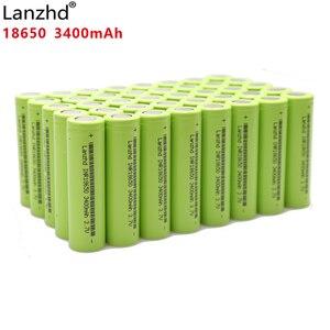 Image 1 - 40 шт., 100% оригинальные литий ионные аккумуляторные батареи INR18650 30 а для Samsung 18650, 3,7 в, 3400 мач, INR18650, 30Q