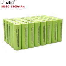 40PCS 100% original New INR18650 30A for Samsung 18650 batteries 3.7V 3400mAh 30Q li-ion Rechargeable Batteries