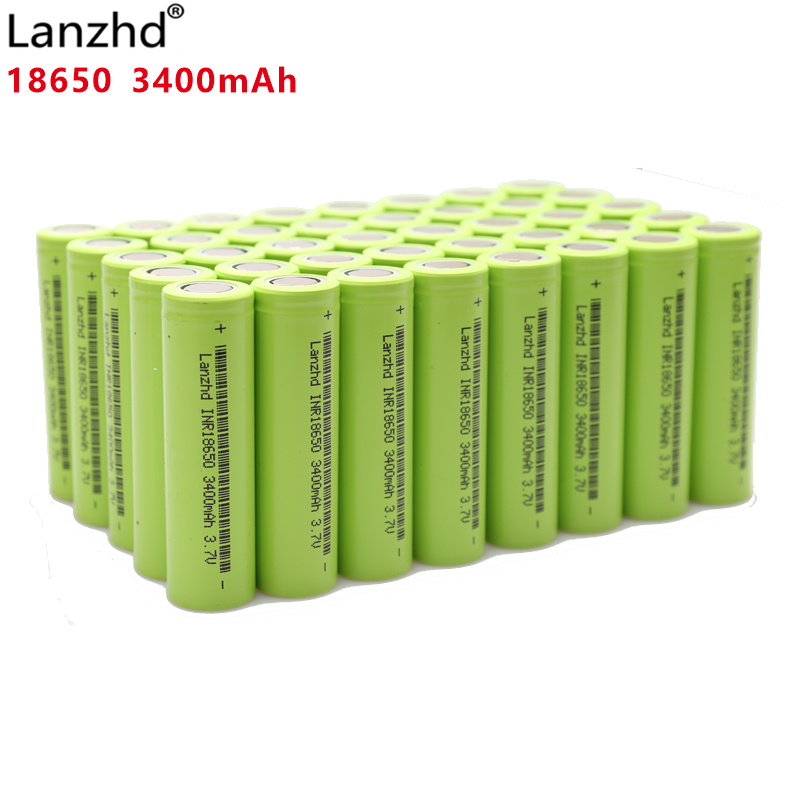 40PCS 100% original New INR18650 30A for <font><b>Samsung</b></font> 18650 batteries 3.7V 3400mAh INR18650 <font><b>30Q</b></font> li-ion Rechargeable Batteries image