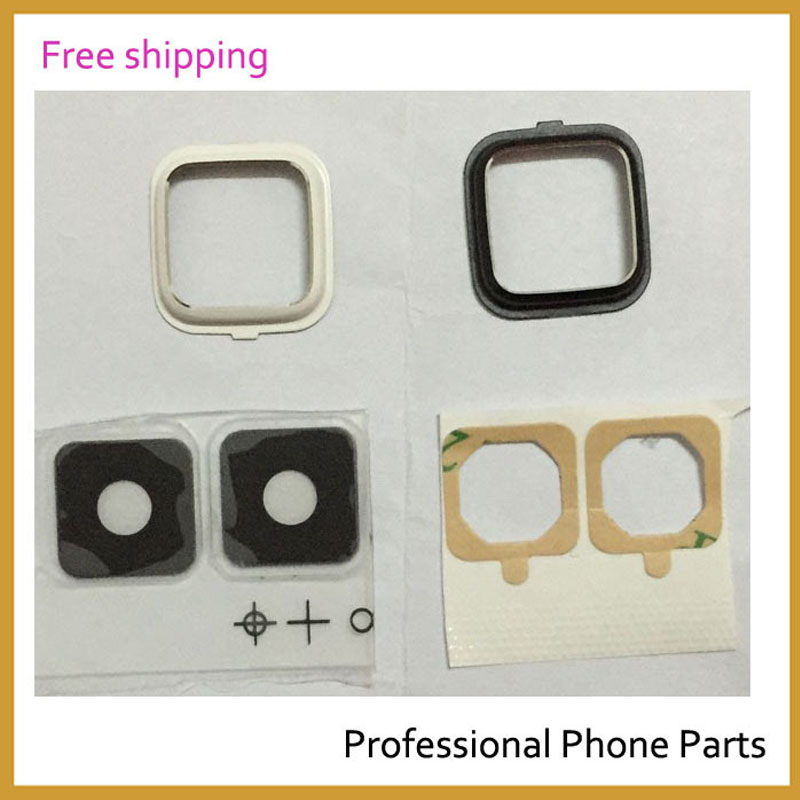 New625 Original Back Camera Glass Lens For Samsung Galaxy Note 4 N910 N910F Rear Camera Glass Circle Cover With Adhensive(China)