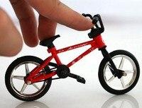 Alaşım Parmak Bisiklet DIY Aracı Ile Ekstrem Sporlar BMX Bisiklet Modeli Oyuncak juguete çocuk Bayramı Oyuncaklar Yenilik Araçlar Çocuk hediye